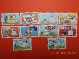 FRANCE 2006  Carnet   SOURIRES AVEC LE CHIEN CUBITUS   Complet (10 Timbres) - Used Stamps