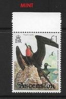 ASCENSION  1976 Birds Ascension Frigatebird (Fregata Aquila) MINT - Ascension (Ile De L')