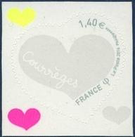 1231  St Valentin  - Coeur Courrèges  - 50 Gr Neuf  ** PRO 2016 + - France
