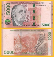 Armenia 5000 Dram P-new 2018 UNC Banknote - Armenia