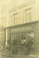 79 - SAINT MAIXENT - Magasin E. BRAULT Fils - Sellerie Bourrelerie - 11 Rue Faubourg - Carte Photo - Saint Maixent L'Ecole
