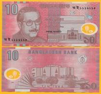 Bangladesh 10 Taka P-35 2000 UNC Polymer Banknote - Bangladesh