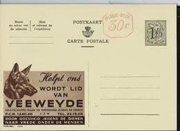 Publibel Neuve N° 1503 M ( VEEWEYDE  Protections Des Animaux; Tête De Chien) - Werbepostkarten
