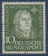 RFA  1951   Martin Luther   N° Mi  149 - [7] Repubblica Federale