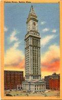 CUSTOM HOUSE - BOSTON. U.S.A. POSTAL CPA CIRCA 1930's NON CIRCULÉ - LILHU - Boston