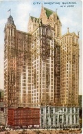CITY INVESTING BUILDING - NEW YORK. U.S.A. POSTAL CPA CIRCA 1930's NON CIRCULÉ - LILHU - New York City