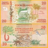 Cook Islands 20 Dollars P-9 1992 UNC Banknote - Cook Islands