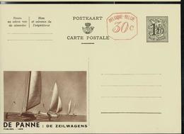 Publibel Neuve N° 1499 M ( LA PANNE: Les Chars à Voile- De Zeilwagens) - Enteros Postales