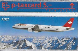 PTT P: KP-93/135C Swissair A321 - Schweiz
