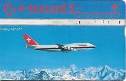 PTT P: KP-93/135B 406L Swissair Boeing 747-357 - Schweiz