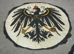 Drapeau étendard Allemand Ww1 Aigle Prussien Similaire Casque à Pointe Fredericus Rex - 1914-18