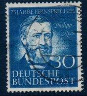 RFA  1952    Philipp Reis - Physicien    N° Mi  161   - Ex1 - [7] Repubblica Federale