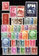 Sarre Belle Petite Collection Neufs ** MNH 1946/1957. TB. A Saisir! - Sarre