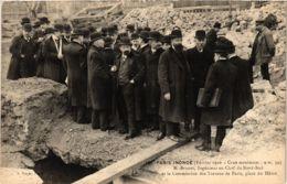 CPA PARIS Inondé 1910 Place Du Havre (579940) - La Crecida Del Sena De 1910
