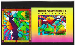SRO439 UNO GENF 1997 MICHL 309/12 + BLOCK 9 ** Postfrisch Siehe ABBILBUNG - Ungebraucht