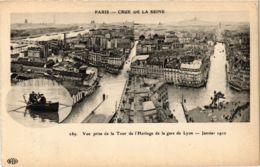 CPA PARIS Crue De La Seine 1910 Vue Prise De La Tour De L'Horloge (860025) - La Crecida Del Sena De 1910