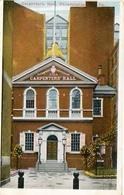 CARPENTER'S HALL, PHILADELPHIA. U.S.A. POSTAL CPA CIRCA 1920 NON CIRCULÉ - LILHU - Philadelphia