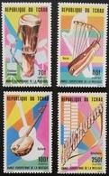 Chad   1985 European Music Year LOT - Chad (1960-...)