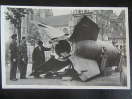 Postkarte V2 Vliegende Bom - Raket - Antwerpen / Anvers 1945 - Weltkrieg 1939-45