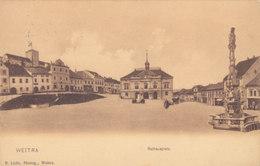 NÖ: Weitra - Rathausplatz 1905 !!! - Zonder Classificatie
