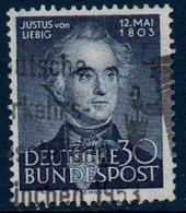 RFA  1953   Julius Von Liebig    N° Mi  166 - [7] Repubblica Federale