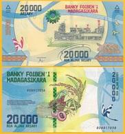 Madagascar 20000 (20,000) Ariary P-104 2017 UNC Banknote - Madagascar
