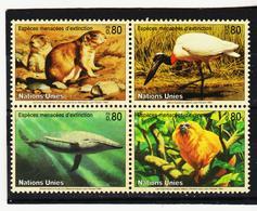 SRO410 UNO GENF 1994 MICHL 245/48 ** Postfrisch Siehe ABBILBUNG - Genf - Büro Der Vereinten Nationen