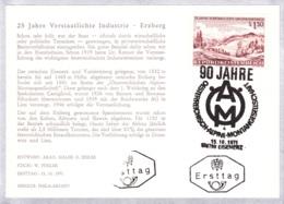 1971  Verstaatlichte Unternehmen - Satz FDC Karten (ANK 1403/1405, Mi 1373/1375) - FDC