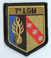ECUSSON TISSU DE BRAS - 7e LEGION GENDARMERIE MOBILE - NEUF - DOS SCRATCH - Police & Gendarmerie