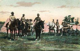 SOLDIERS TO HORSES. U.S.A. POSTAL CPA CIRCA 1930 NON CIRCULÉ - LILHU - Estados Unidos