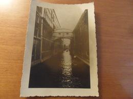 Foto  Venezia Ponte Dei Sospiri 1953 - Personnes Anonymes