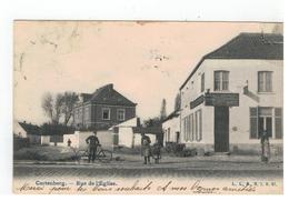Kortenberg  Cortenbergh - Rue De L'Eglise (li Boven Hoekje Geplakt Zie Scan) 1908 - Kortenberg