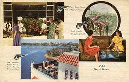 PAN AMERICAN WORLD AIRWAYS - GUEST HOUSES. U.S.A. POSTAL CPA CIRCA 1960 NON CIRCULÉ - LILHU - Estados Unidos
