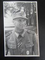 Postkarte / Fotokarte Soldat Mit Orden / EK2 - Gebirgsjäger? - 1942 - Weltkrieg 1939-45
