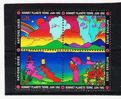 SRO407 UNO GENF 1992 MICHL 215/18 ** Postfrisch Siehe ABBILBUNG - Genf - Büro Der Vereinten Nationen