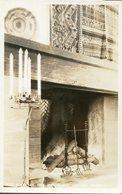 """FIRE PLACE IN """"THE AHWAHNEE"""" LOUNGE ROOM . U.S.A. POSTAL CPA CIRCA 1940 NON CIRCULÉ - LILHU - Estados Unidos"""