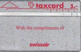 PTT: K-91/6B 201L Swissair - Schweiz