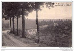 HERBEUMONT ..-- Nels 40 , N° 2 . Route De Conques. 1911 Vers ANVERS . Voir Verso . - Herbeumont