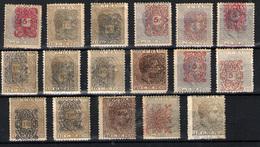 Cuba Nº 74/75,77/82,86/87. Año 1883 - Cuba (1874-1898)
