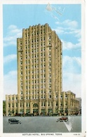 SETTLES HOTEL, BIG SPRING, TEXAS. U.S.A. POSTAL CPA CIRCA 1910 NON CIRCULÉ - LILHU - Estados Unidos