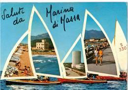 SALUTI DA MARINA DI MASSA    (MC MASSA CARRARA) - Massa