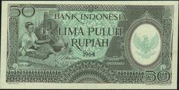 INDONESIA - 50 Rupiah 1964 AU-UNC P.96 - Indonesia