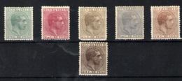 Cuba Nº 62/67. Año 1881 - Cuba (1874-1898)