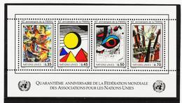 SRO413 UNO GENF 1986 MICHL BLOCK 4 ** Postfrisch Siehe ABBILBUNG - Genf - Büro Der Vereinten Nationen