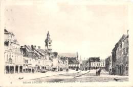 REIMS ANCIEN Place De La Couture Eglise Saint Jacques 21(scan Recto-verso) MA2260 - Reims