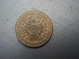 Bouton République Française Sans Attache 1792-1793. - Boutons