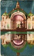 ESTIVAL HALL BY NIGHT WITH REFLECTION IN LAGOON, SAN FRANCISCO. U.S.A. POSTAL CPA CIRCA 1915 NON CIRCULÉ - LILHU - San Francisco