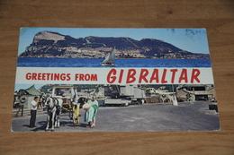 9218-   GREETINGS FROM GIBRALTAR - Gibilterra