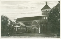 Uppsala; Trefaldighetskyrkan - Not Circulated. (Äkta Fotografi) - Zweden