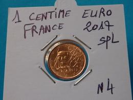 1 CENTIME EURO FRANCE 2017 Spl  ( 2 Photos ) - Francia